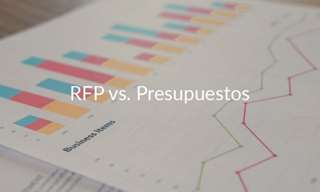 ¿Qué diferencias hay entre una solicitud de propuesta y un presupuesto?